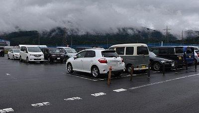 たくみの里駐車場