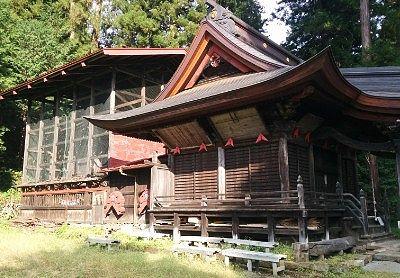 鳥頭神社社殿