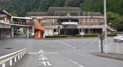 道の駅大滝温泉駐車場