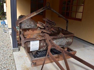 鉄鉱石搬出用のバケツ