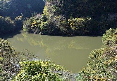 展望台から見たまつだ湖