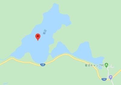 菅沼のgoogleマップ