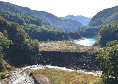 赤沢橋からの景色