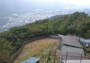 山頂駅展望台からの眺望