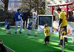 猿のサッカー