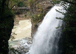 龍王峡の滝