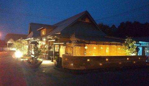 茶屋草木万里野桐生店の外観
