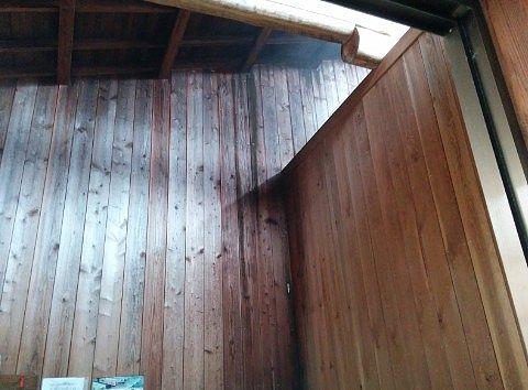 天井の様子