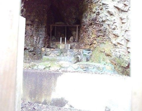 岩穴の様子