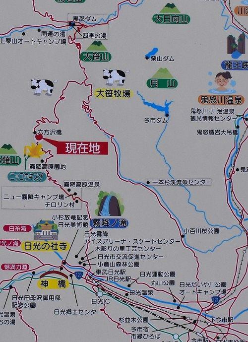 六万沢橋周辺地図