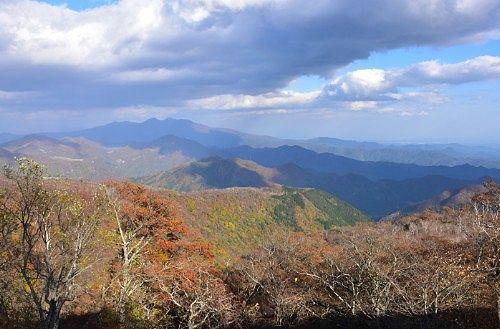 六万沢展望台からの景色1
