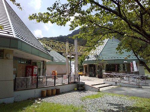 足尾環境学習センターとトイレの銅館