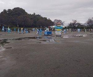 薮塚かかし祭り2020年の様子