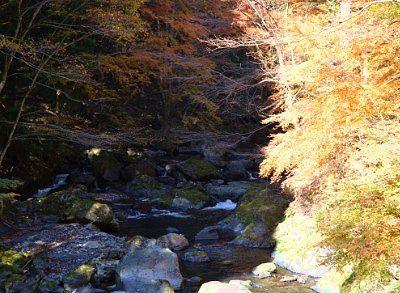 宿脇の桐生川