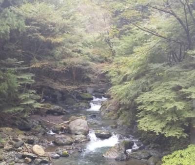 宿前の桐生川