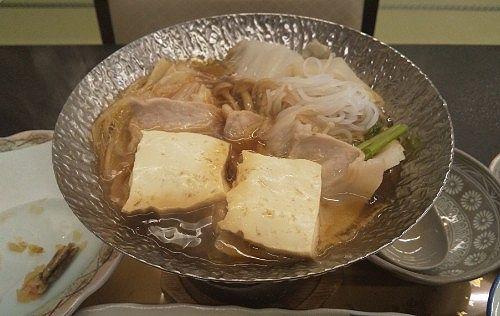 豚すき焼き鍋