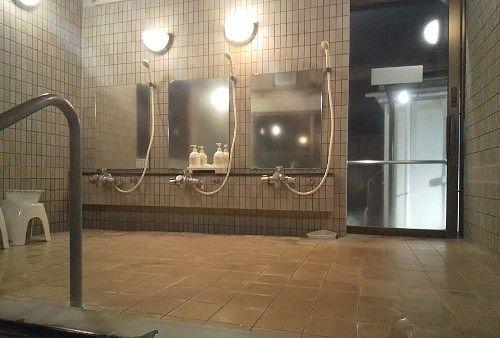 仙人の湯の洗い場