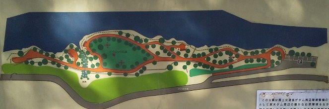 東宮公園マップ