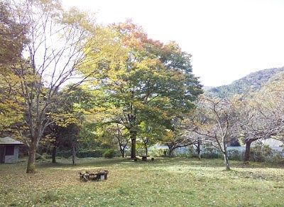 草木湖の紅葉