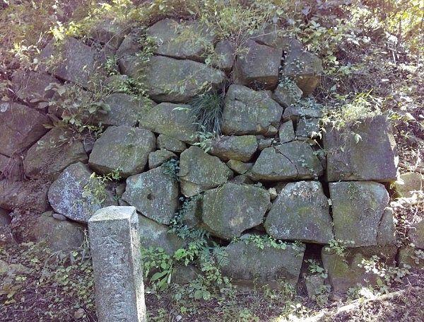 戦国時代の石垣