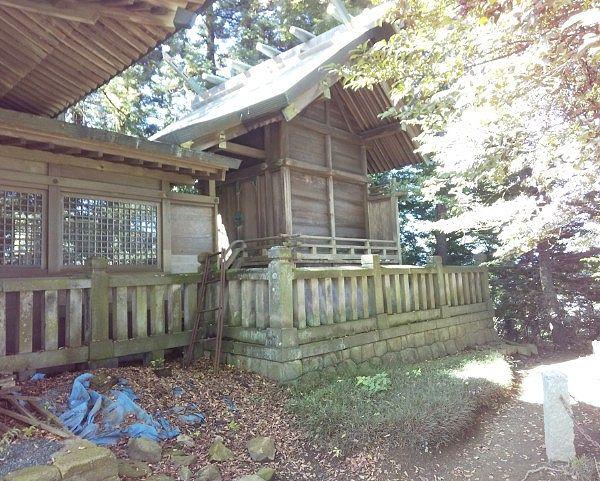 新田神社本殿