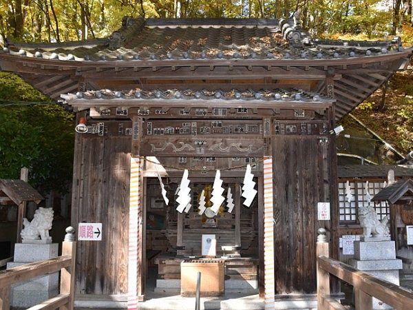 老神温泉赤城神社社殿