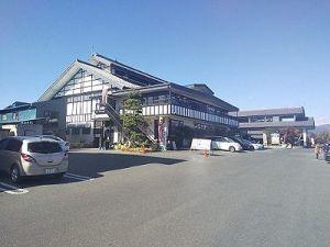 原田農園と駐車場