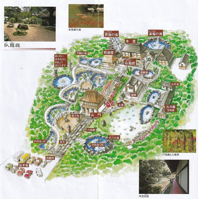 吉祥寺境内マップ