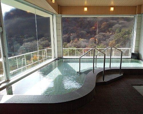 絶景内風呂