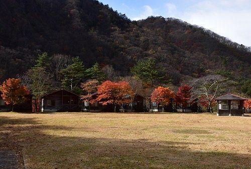 広々としてる銀山平公園