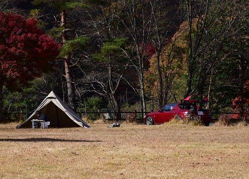 銀山平公園でキャンプ