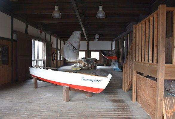 ベルギー王国大使館別荘のボート