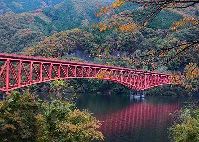草木橋周辺の紅葉