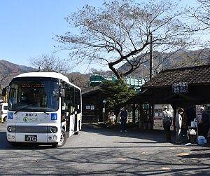 神戸駅と路線バス