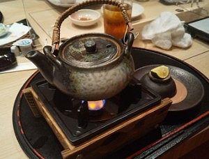 松茸とハモの土瓶蒸