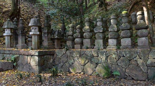 横瀬(由良)氏五輪塔