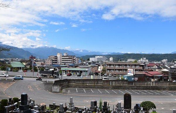常楽寺からの眺め