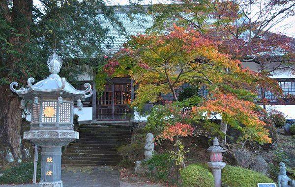 鳳仙寺の紅葉