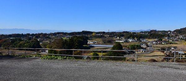 駐車場からの景色