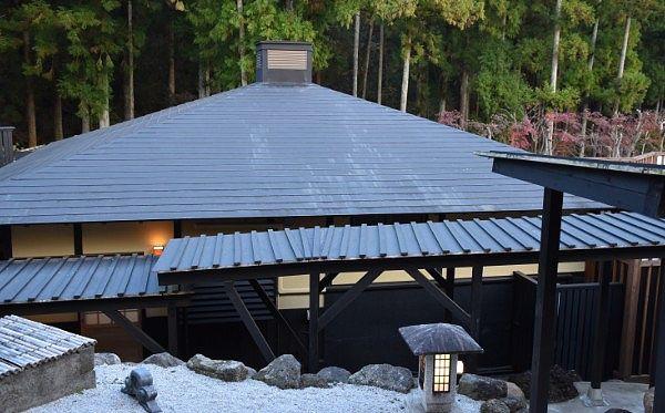 大浴場の湯屋