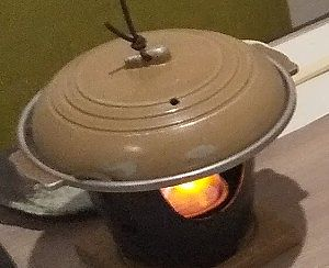 上州牛と上州麦豚の朴葉味噌焼き