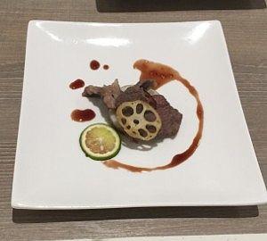 上州牛と秋野菜の重ね焼き