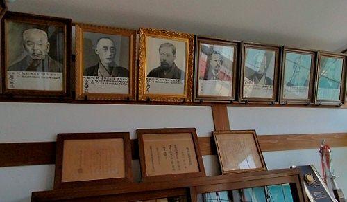 歴代長野原町長の写真