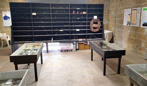 山岸賢司コレクション展示室の様子