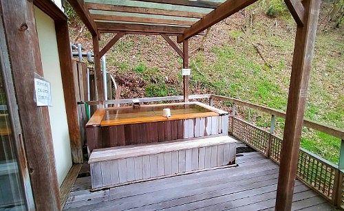 山女の湯露天風呂