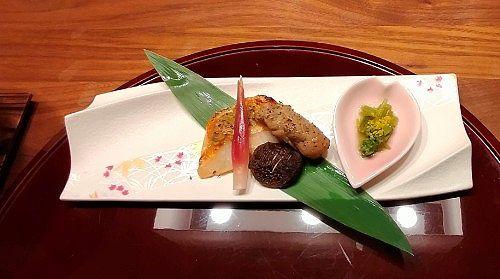 金目鯛焼き物