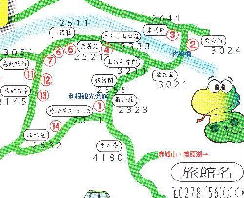 老神温泉マップ