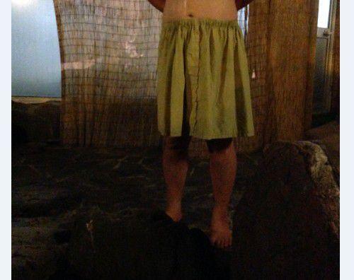 男性用の湯浴み