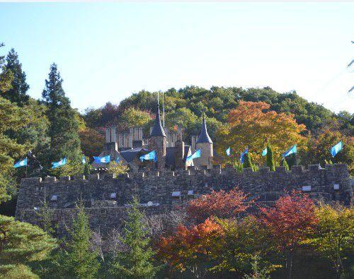 ロックハート城の裏側
