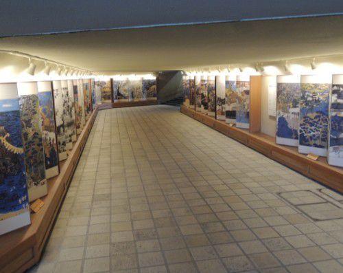地下道の様子